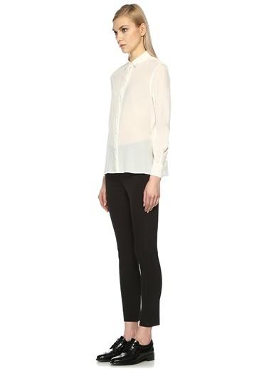 Uzun Kollu Şifon Gömlek-Beymen Collection